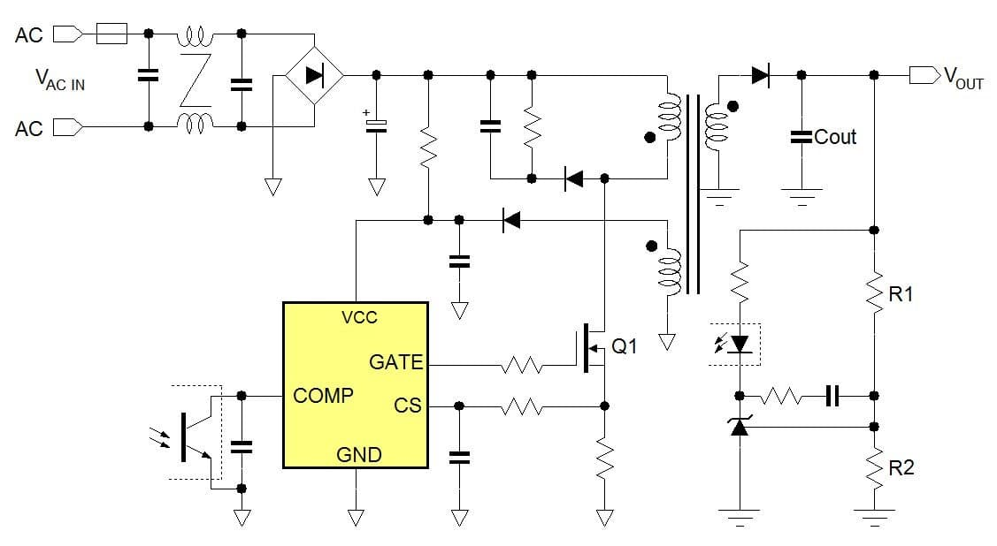 Selecting An Ac Dc Flyback Controller Ic Richtek Technology