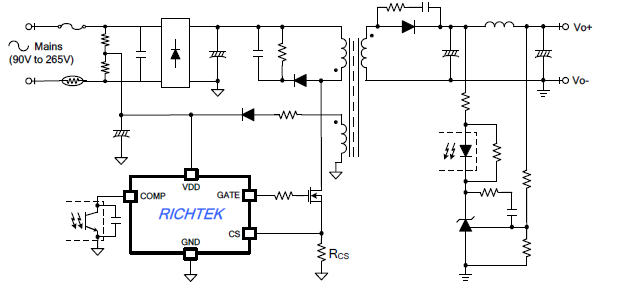 How to Eliminate Over Stress of MOSFET during Start-up of