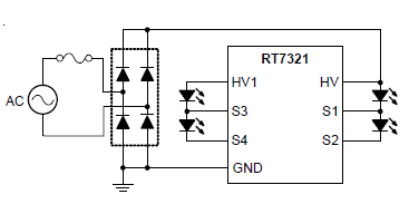 Guidelines for the RT7321 Off-line Linear LED Driver