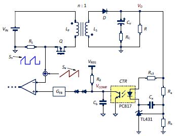 Feedback Control Design of Off-line Flyback Converter