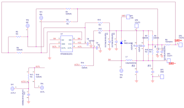 EVB Schematic Diagram. Technical Document Image Preview
