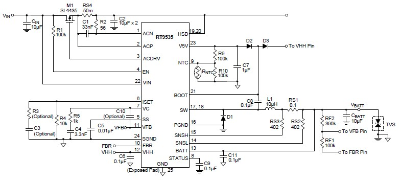 pwm battery charge controller circuit diagram