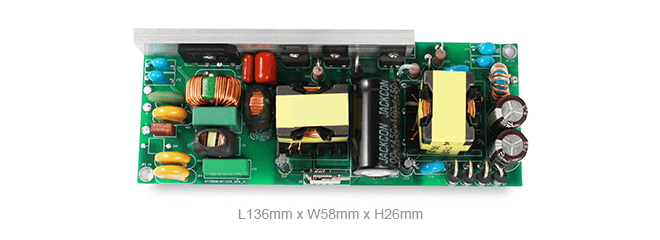 100W flicker-free dimmable isolated LED driver solution